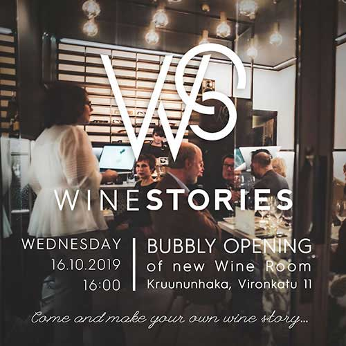 Bubbly Opening / 16.10.2019