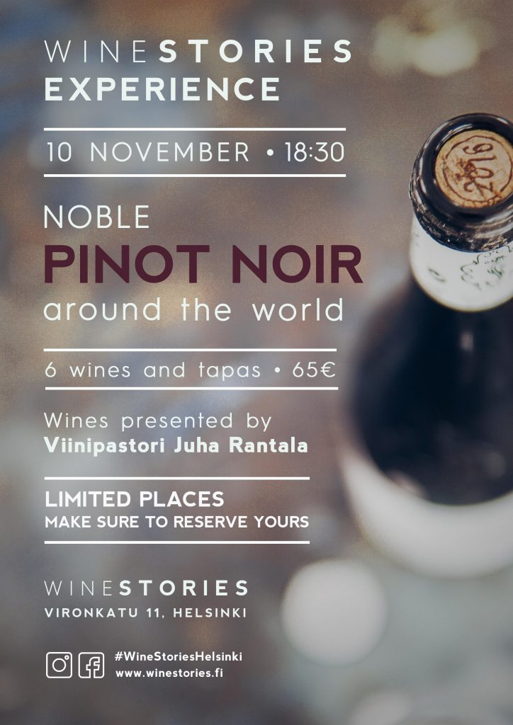 The Pinot Noir Experience / 10.11.2020